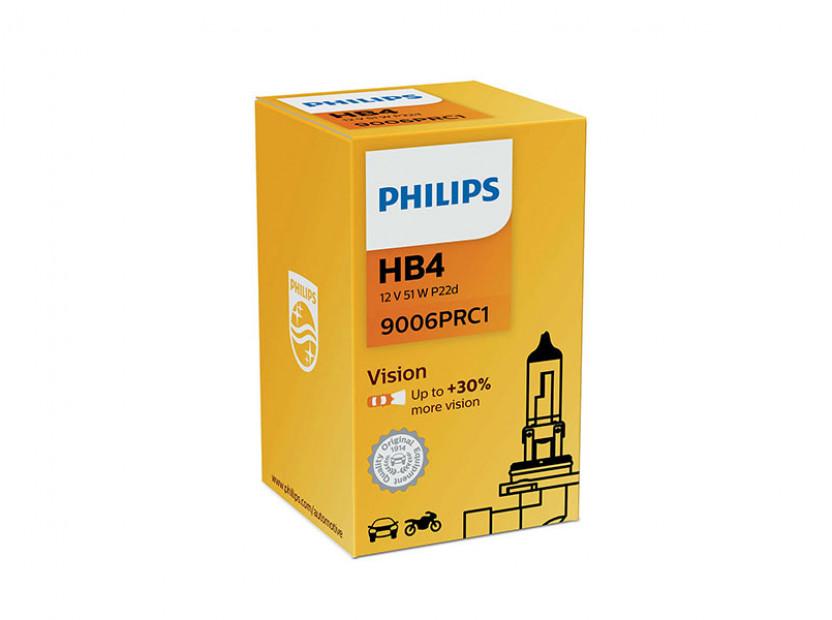 Халогенна крушка Philips HB4 Vision 12V, 55W, P20D, 1 брой