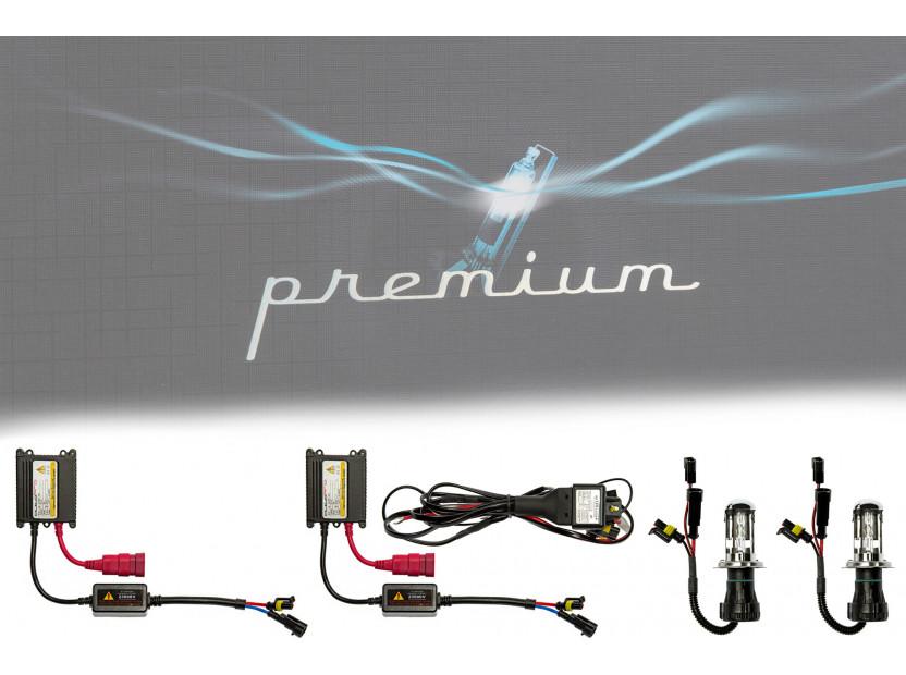Ксенон система PREMIUM  H4-3 HI-LOW 5000K 12V/35W 4