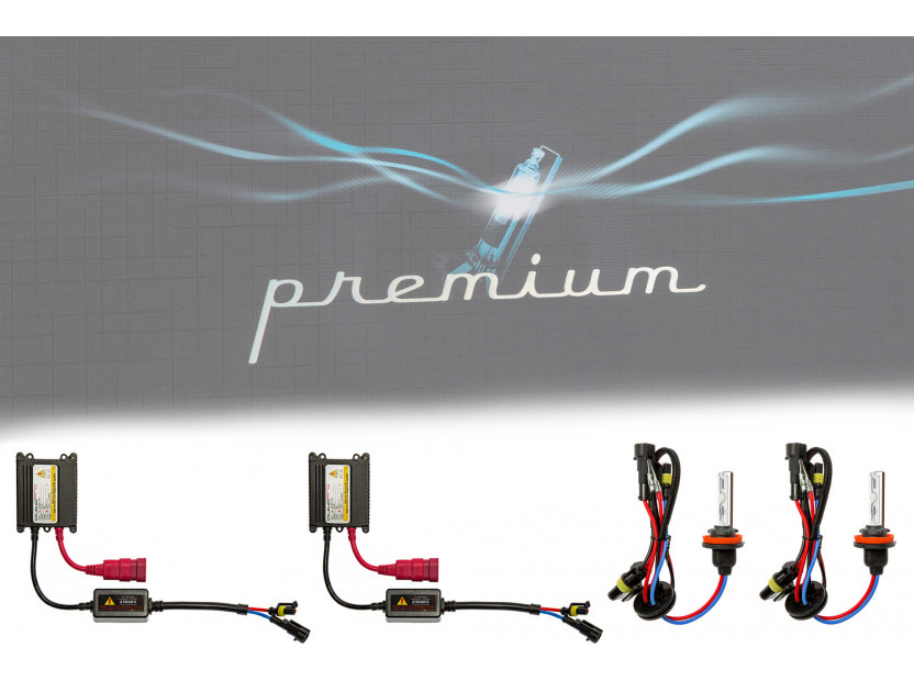 Ксенон система PREMIUM  H9 8000K 12V/35W 4