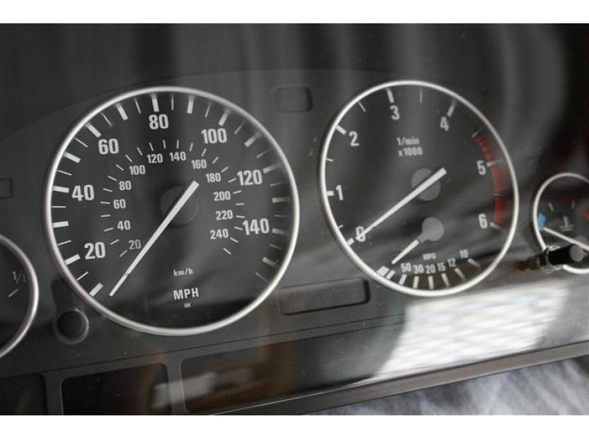 Рингове за табло autopro за BMW серия 5 E39 1995-2004/серия 7 E38 1994-2001/серия Х5 E53 2000-2007, цвят сиви 9