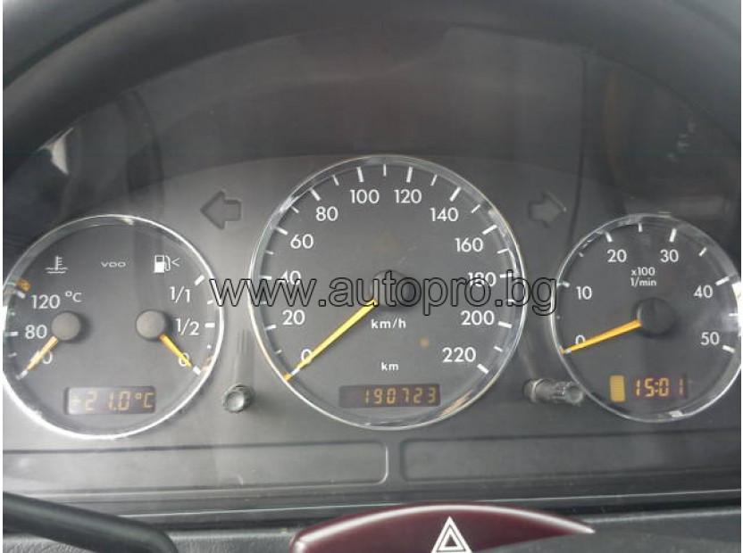 Рингове за табло autopro за Mercedes M класа ML W163 1998-2005, цвят хром 9