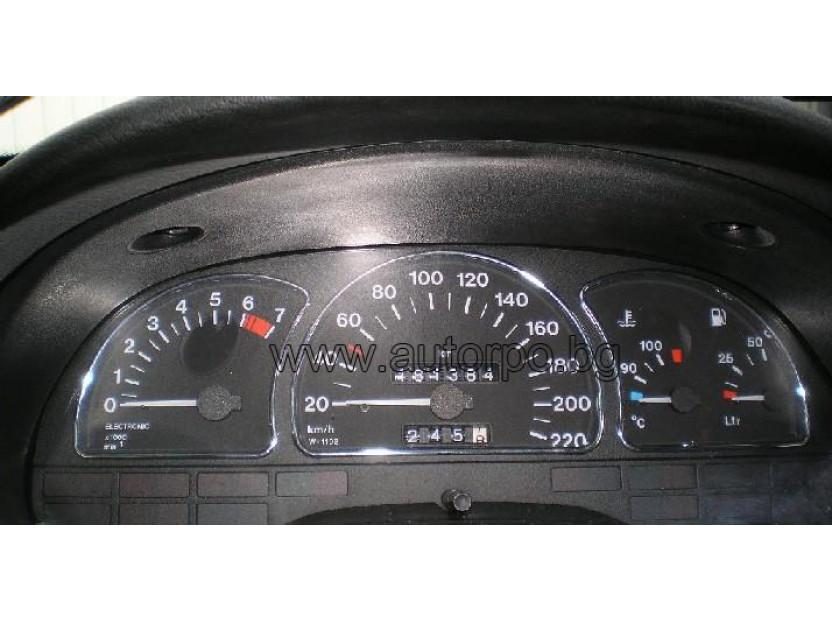 Рингове за табло autopro за Opel Astra F 1991-1999/Vectra A 1988-1995/Calibra 1990-1997, цвят хром 8