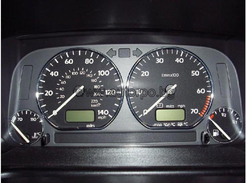 Рингове за табло autopro за Volkswagen Golf III 1991-1999/ Jetta 1983-1992/ Polo 1994-1999/Vento 1991-1998, цвят хром 3