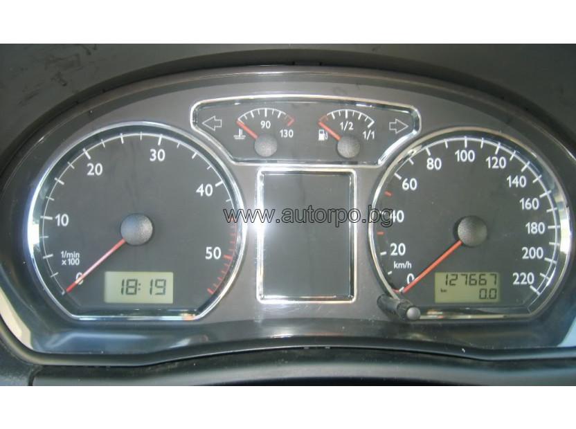 Рингове за табло autopro за Volkswagen Polo 9N 2001-2006, цвят хром 3
