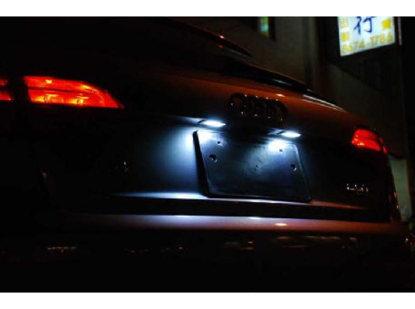 Комплект LED плафони за регистрационен номер за Audi A3,A4,A5,A6,Q7, ляв и десен 10