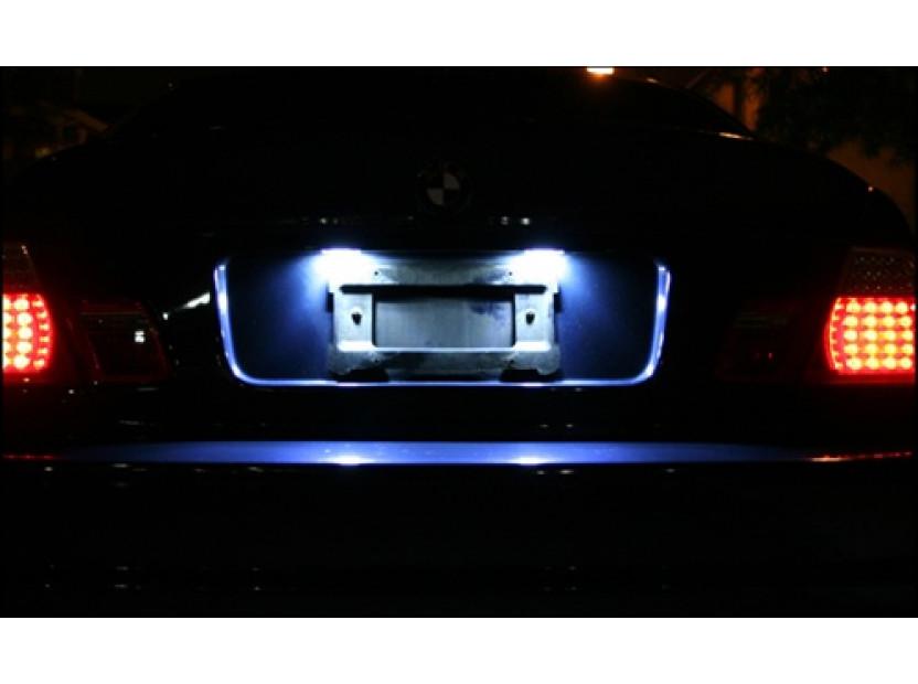 Комплект LED плафони за регистрационен номер за BMW серия 3 E36 седан/купе/комби/компакт 1990-1999, ляв и десен 7