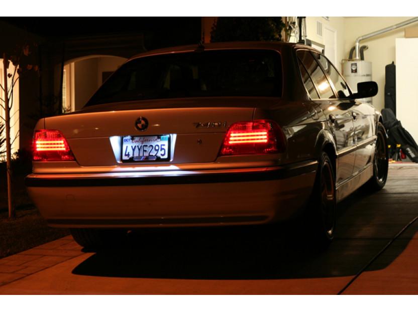 Комплект LED плафони за регистрационен номер за BMW серия 3 E46 купе/кабрио 2003-2006, ляв и десен 9
