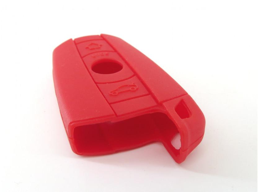 Червен силиконов калъф за ключ за BMW 4