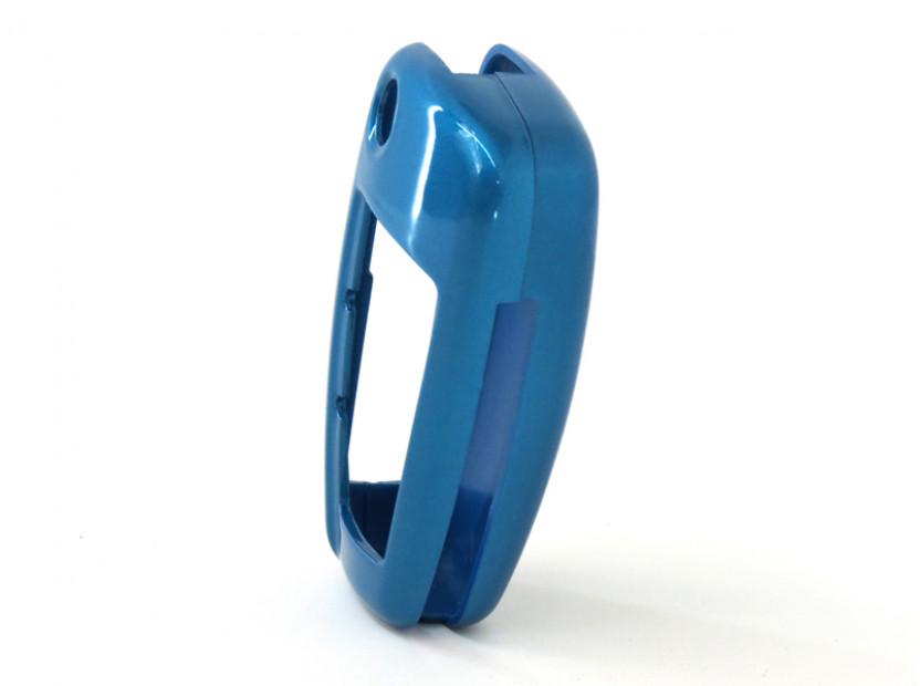 Син пластмасов калъф за ключ за Audi 3