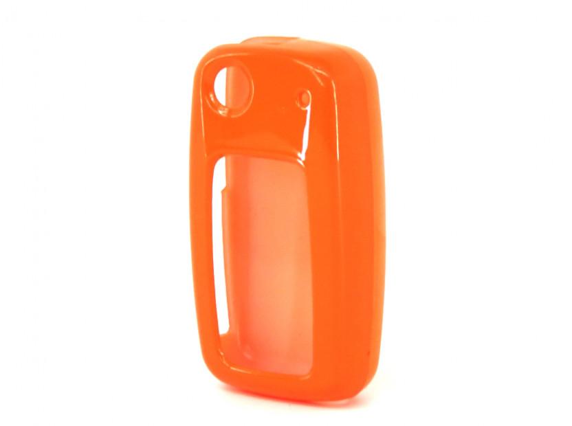 Оранжев пластмасов калъф за ключ за Volkswagen