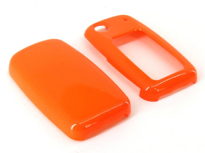 Оранжев пластмасов калъф за ключ за Volkswagen 2