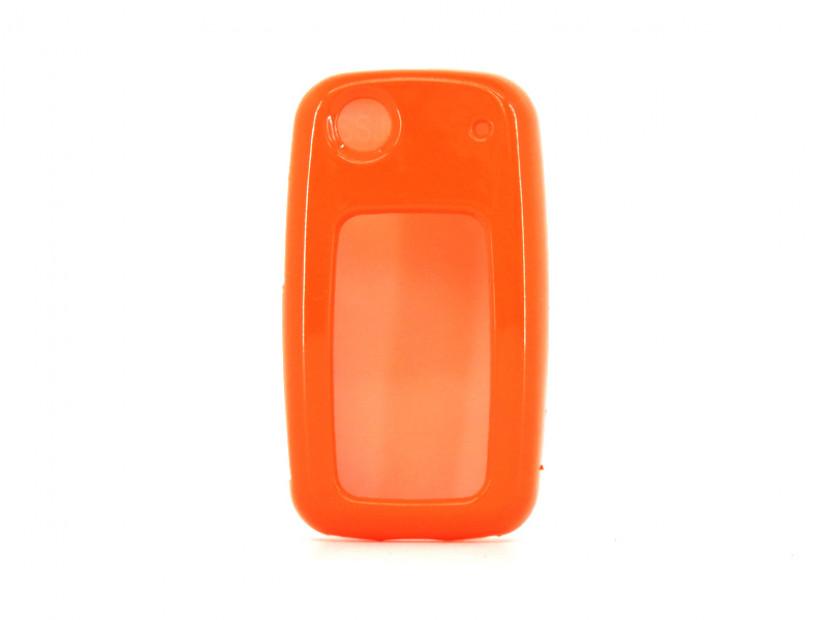 Оранжев пластмасов калъф за ключ за Volkswagen 6