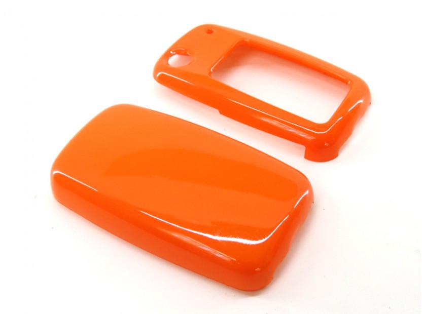 Оранжев пластмасов калъф за ключ за Volkswagen 3