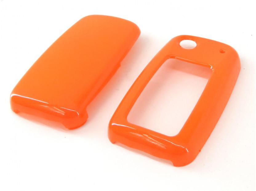 Оранжев пластмасов калъф за ключ за Volkswagen 4