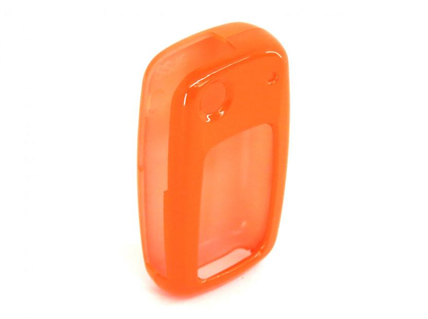 Оранжев пластмасов калъф за ключ за Volkswagen 7