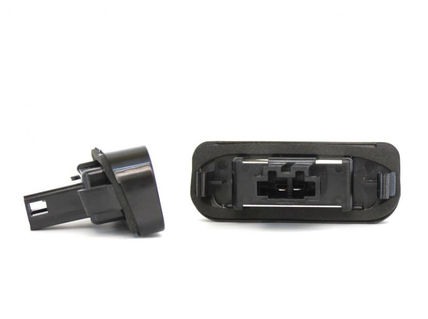 Комплект LED плафони за регистрационен номер за Mercedes S класа W220 1999-2005, ляв и десен 5