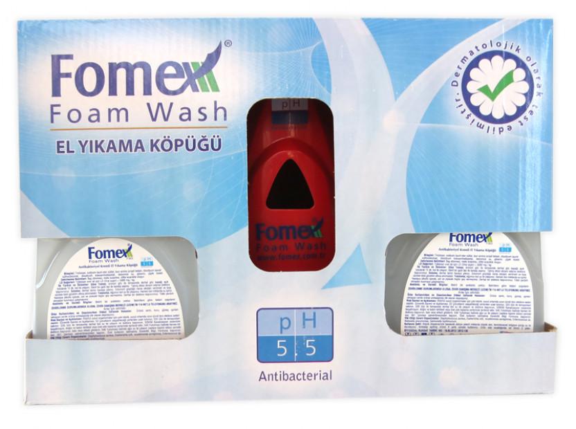 Диспенсър за течен сапун на пяна Fomex 7