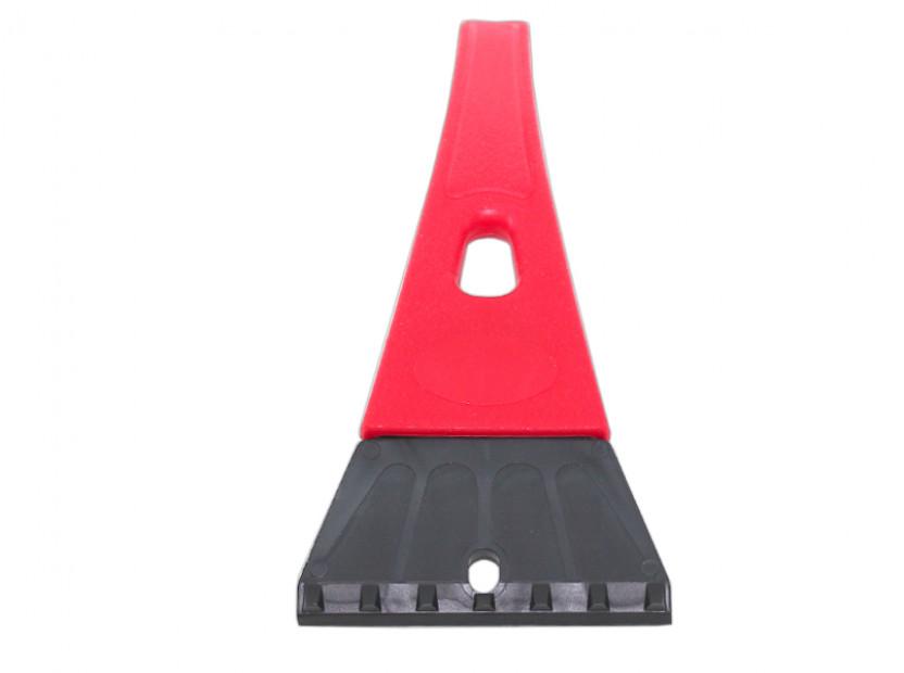 Стъргалка за лед със стандартна дръжка Petex 25 см червена 2