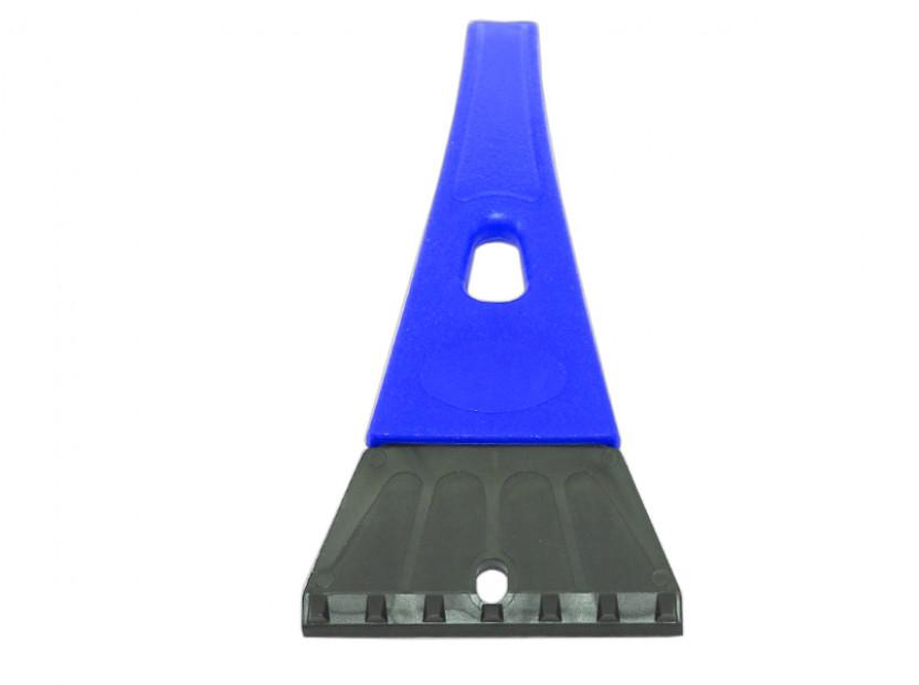 Стъргалка за лед със стандартна дръжка Petex 25 см синя 2