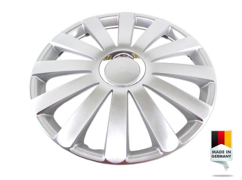 "Декоративни тасове PETEX 16"" Spyder pro silver, 4 броя 6"