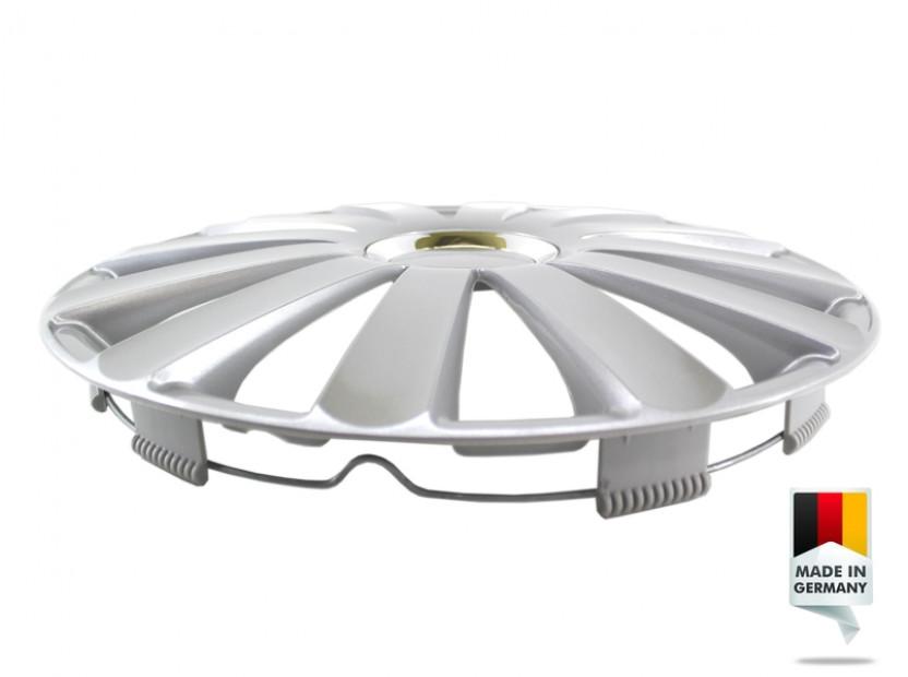 "Декоративни тасове PETEX 16"" Spyder pro silver, 4 броя 7"