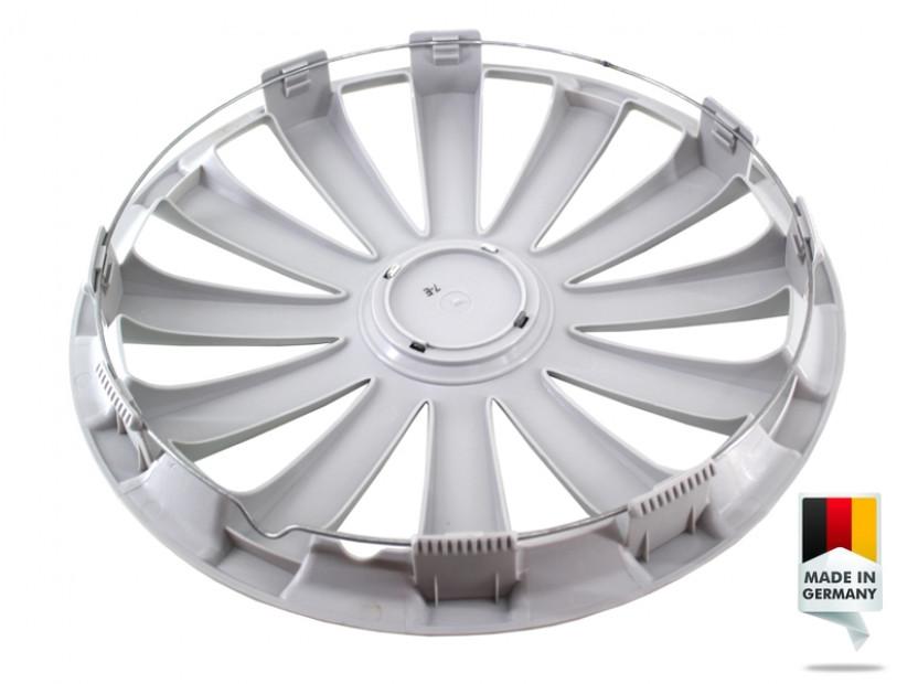 "Декоративни тасове PETEX 16"" Spyder pro silver, 4 броя 3"