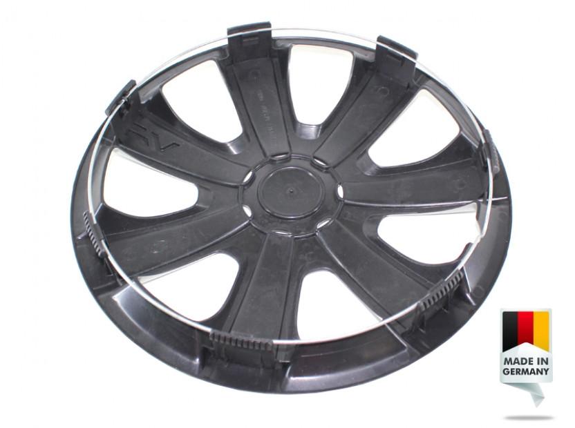 "Декоративни тасове PETEX 14"" VR silver, 4 броя 5"