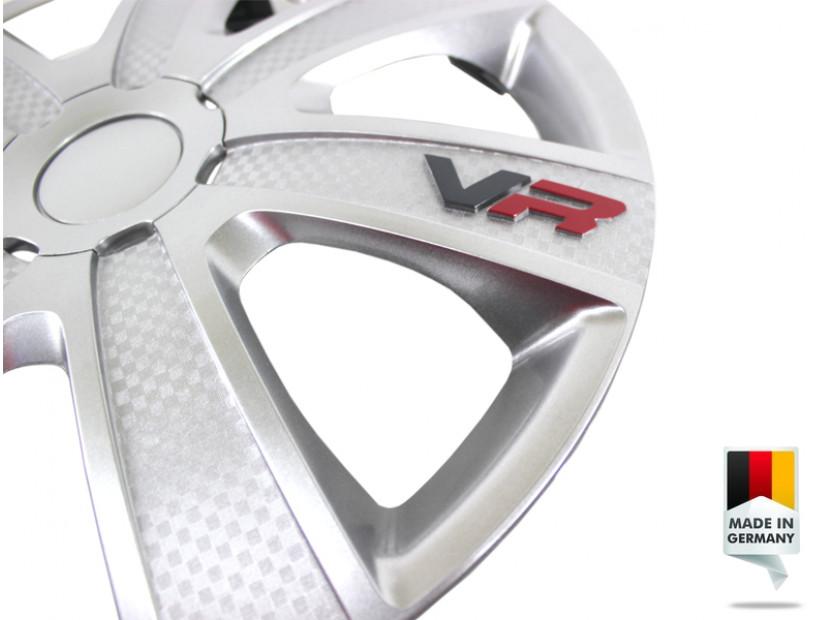 "Декоративни тасове PETEX 14"" VR silver, 4 броя 3"