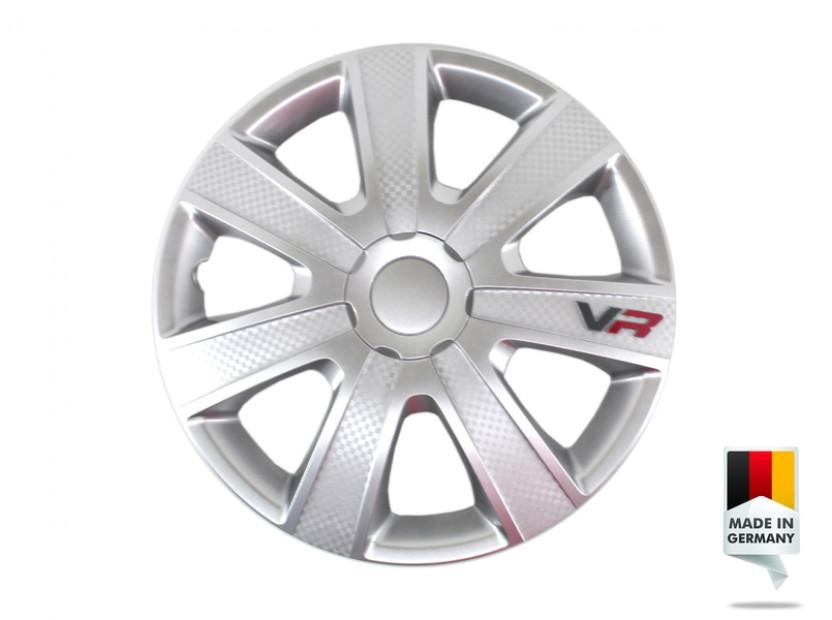 "Декоративни тасове PETEX 15"" VR silver, 4 броя"