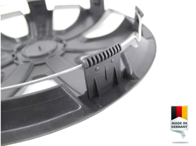 "Декоративни тасове PETEX 15"" VR silver, 4 броя 2"