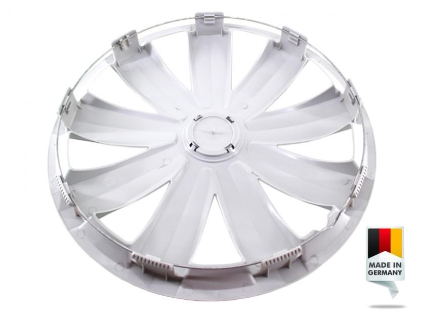 """Декоративни тасове PETEX 15"""" Venture pro silver, 4 броя 2"""