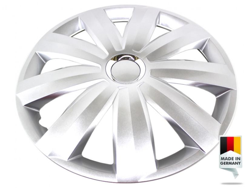 """Декоративни тасове PETEX 15"""" Venture pro silver, 4 броя 4"""