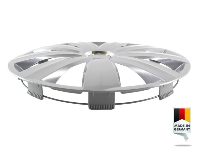 """Декоративни тасове PETEX 15"""" Venture pro silver, 4 броя 7"""