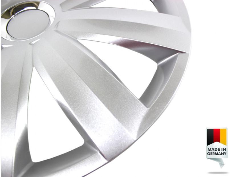 """Декоративни тасове PETEX 15"""" Venture pro silver, 4 броя 5"""