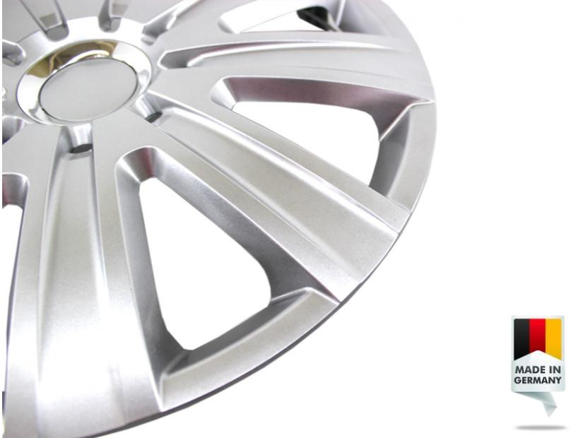 "Декоративни тасове PETEX 15"" Magnum pro silver, 4 броя 4"