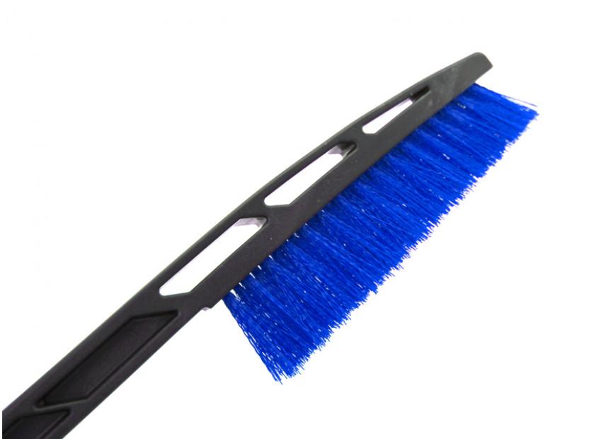 Стъргалка за лед с четка за сняг Petex 89 см синя 2