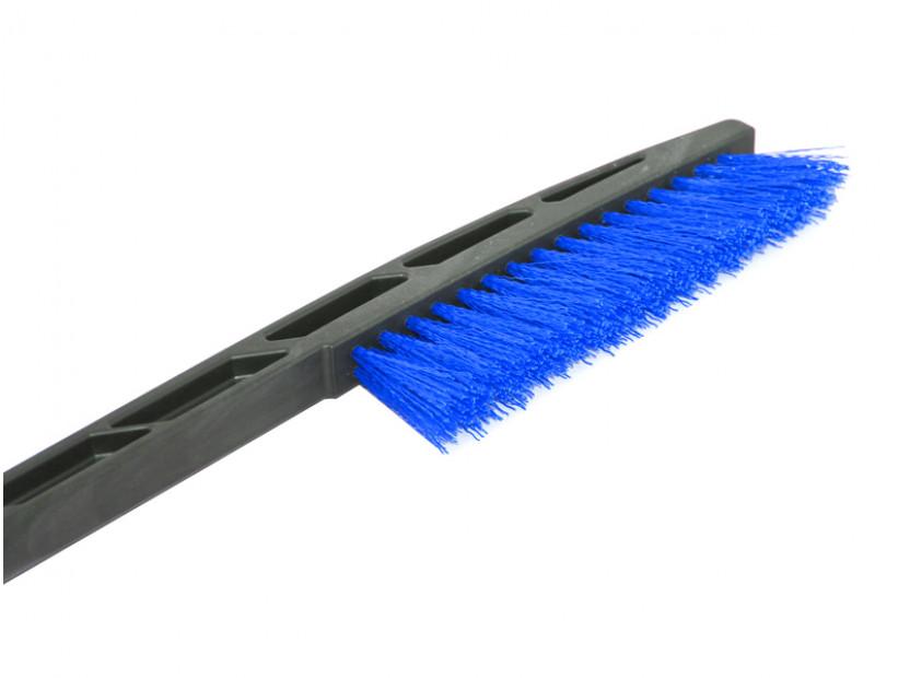 Стъргалка за лед с четка за сняг Petex 89 см синя 3