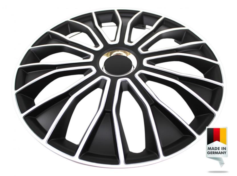 "Декоративни тасове PETEX 15"" Voltec pro black/white, 4 броя 4"