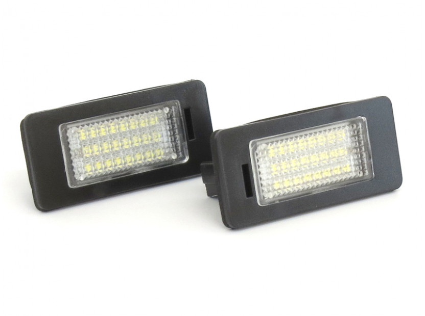 LED плафони за регистрационен номер за Volkswagen Golf VI,Golf Plus,Jetta,Passat,Sharan,Touran,Touareg 2