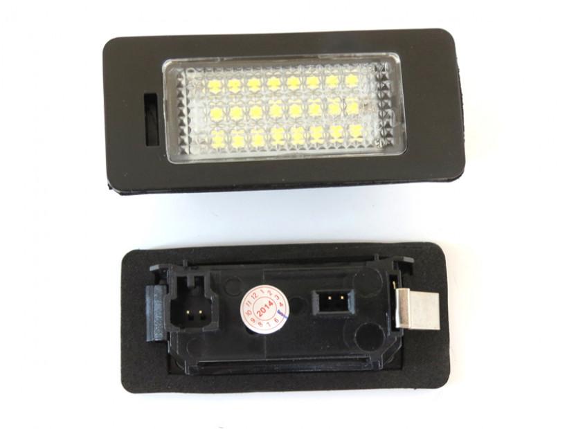 LED плафони за регистрационен номер за Volkswagen Golf VI,Golf Plus,Jetta,Passat,Sharan,Touran,Touareg 5