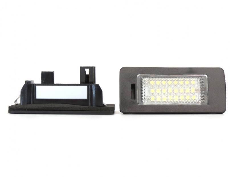 LED плафони за регистрационен номер за Volkswagen Golf VI,Golf Plus,Jetta,Passat,Sharan,Touran,Touareg 3
