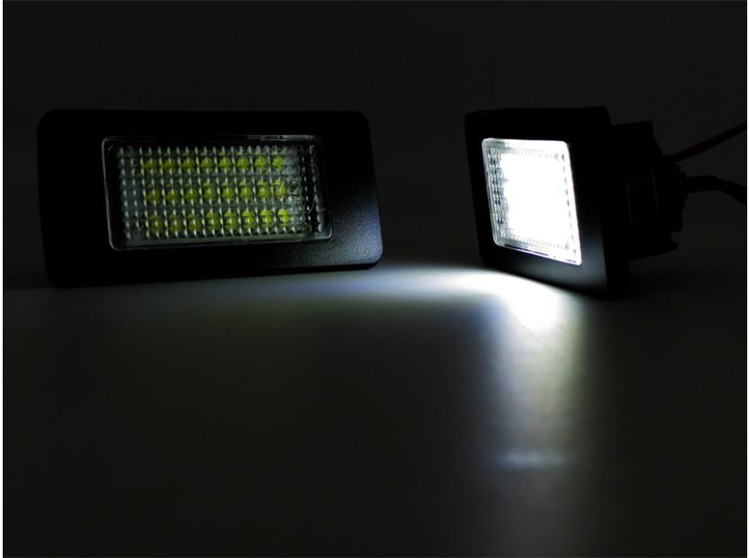 LED плафони за регистрационен номер за Volkswagen Golf VI,Golf Plus,Jetta,Passat,Sharan,Touran,Touareg 9