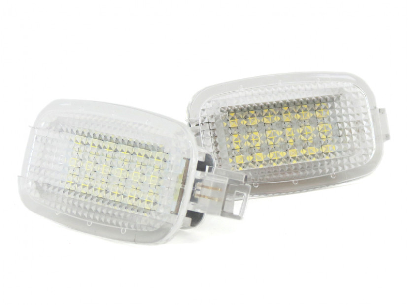 Комплект LED плафон за осветление под вратите за Mercedes W164,W169,W204,W212,W221,W245,W463,X164,C197,X204,C216,R230,W251,W639, ляв и десен 3