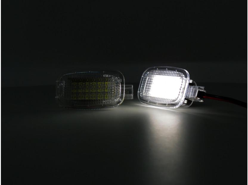 Комплект LED плафон за осветление под вратите за Mercedes W164,W169,W204,W212,W221,W245,W463,X164,C197,X204,C216,R230,W251,W639, ляв и десен 4