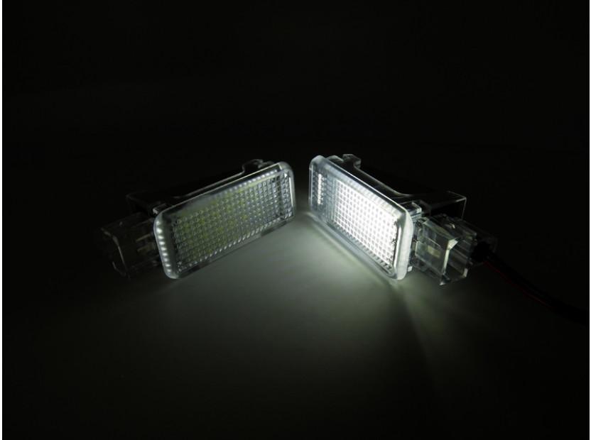 Комплект LED плафони за интериор Audi A3, A4, VW Golf V,VI,Passat,Caddy,EOS,Jetta,Scirocco 6