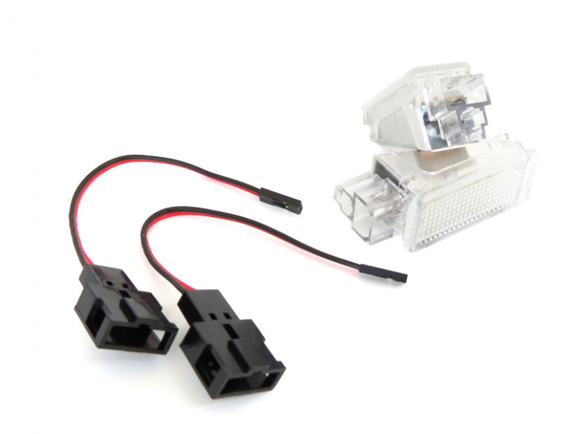 Комплект LED плафони за интериор Audi A3, A4, VW Golf V,VI,Passat,Caddy,EOS,Jetta,Scirocco 4