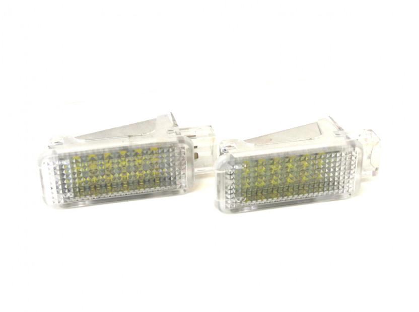 Комплект LED плафони за интериор Audi A3, A4, VW Golf V,VI,Passat,Caddy,EOS,Jetta,Scirocco