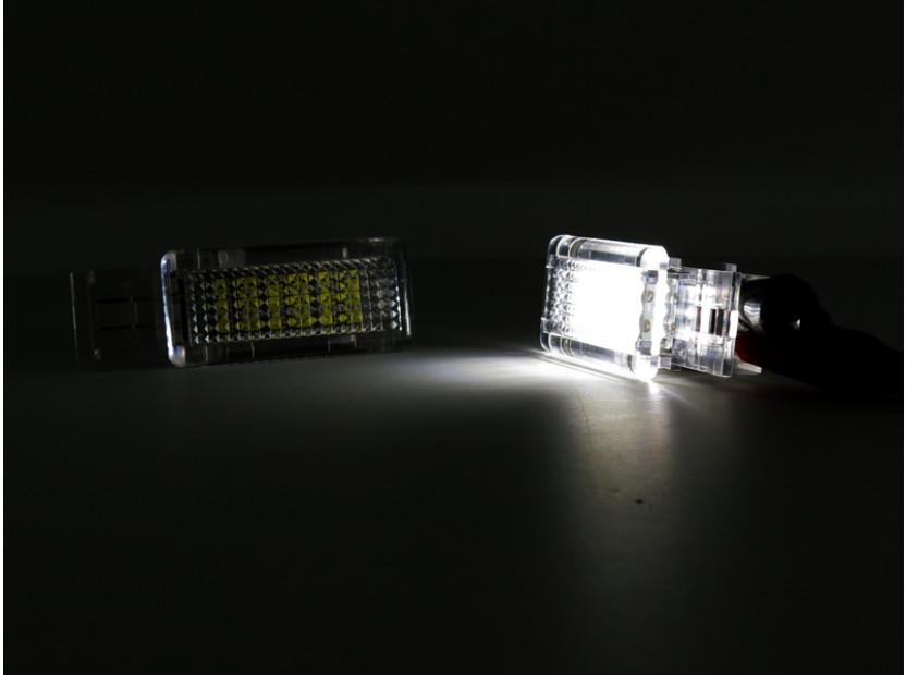 Комплект LED плафони за Mercedes W176, W246, W203, C117, X156, W209, R171, R199, W639, W240, ляв и десен 5