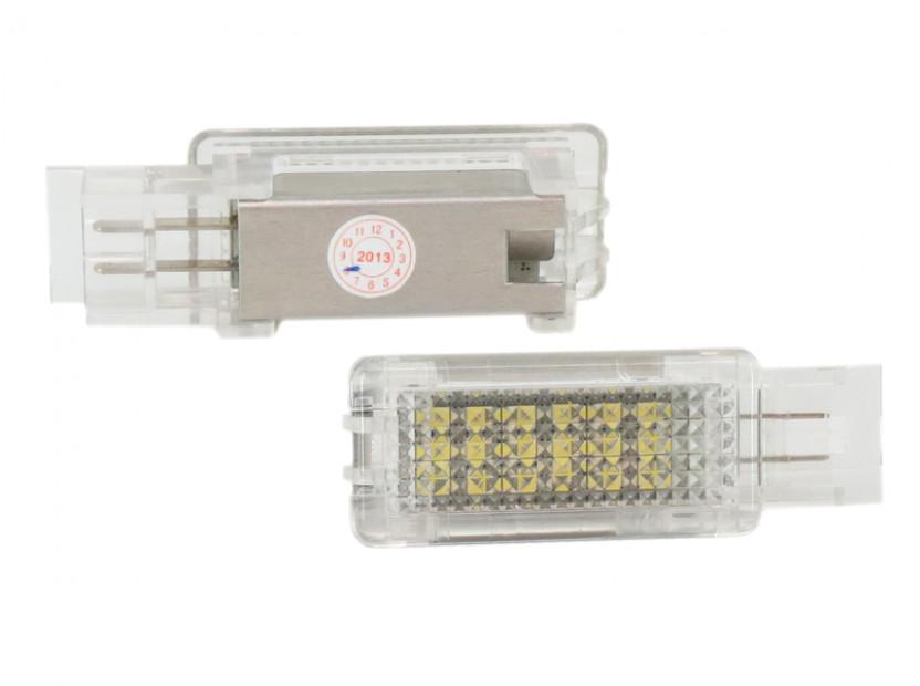Комплект LED плафони за Mercedes W176, W246, W203, C117, X156, W209, R171, R199, W639, W240, ляв и десен 2