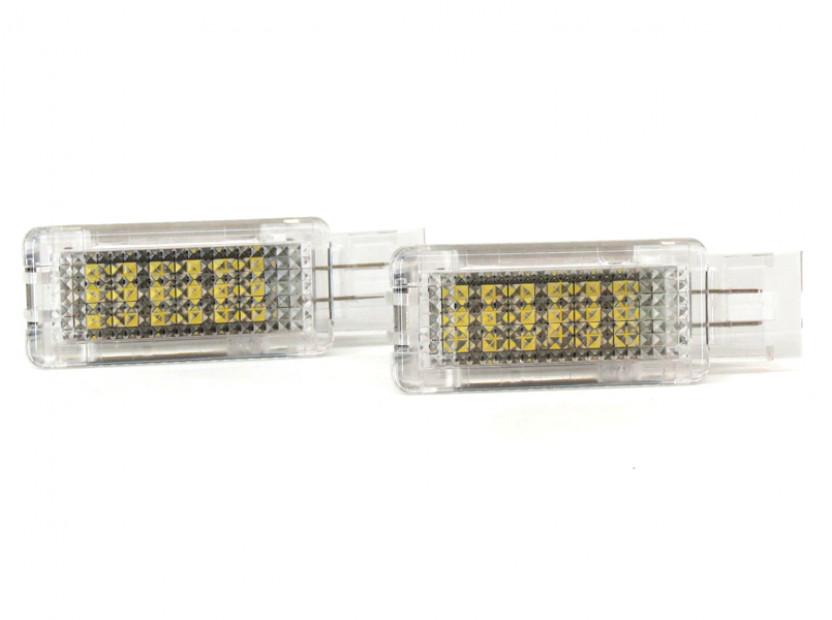 Комплект LED плафони за Mercedes W176, W246, W203, C117, X156, W209, R171, R199, W639, W240, ляв и десен